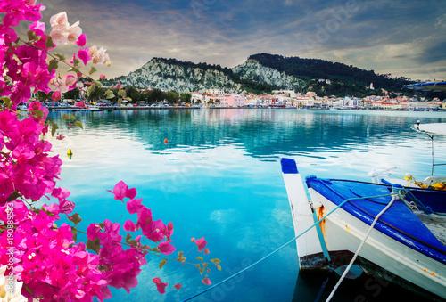 Fotografie, Obraz  Zaante town, Zakinthos Greece