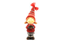 Christmass Toy Elf Isolated On...
