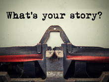 What's Your Story Vintage Type...