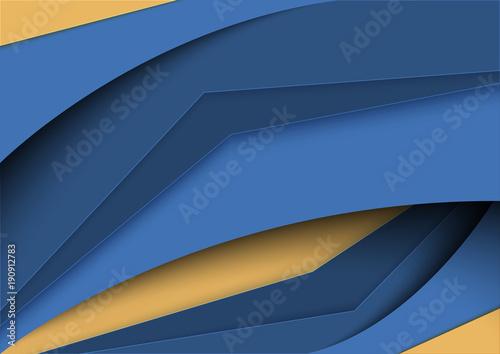 Photo Modern angular broken line background