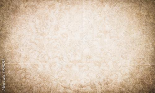 Elegant Grunge Paper Texture With Subtle Ornaments Kaufen Sie