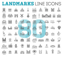 Simple Linear Vector Icon Set ...