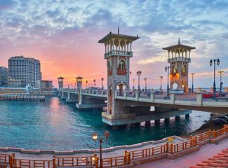 Romantic Alexandria, Egypt