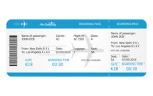 Boarding Pass Ticket Template....