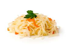Sauerkraut With Carrot And Spr...