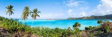 Tropische Insel Im Pazifischen Ozean