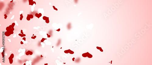 Herz und Liebe Motiv Fototapete