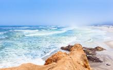 Santa Cruz.  California. Coast...