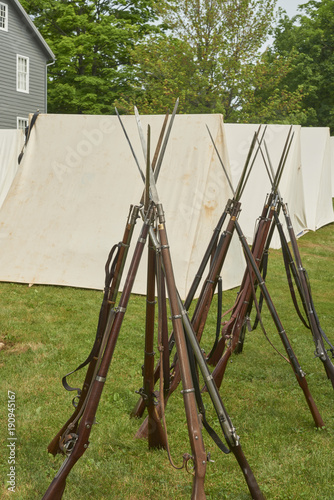 Fotografía  American Civil War Infantry Rifle