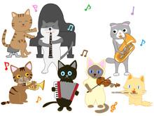 猫のコンサート