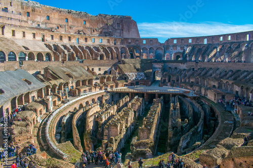 Inside the Colosseum © Toby
