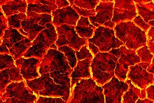 Red Lava Texture Background