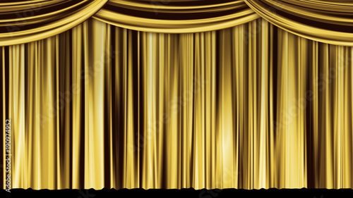 Printed kitchen splashbacks Theater stage curtain