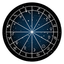 Astrology Zodiac With Natal Ch...
