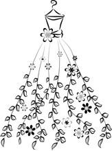 Long Dress Fashion Design
