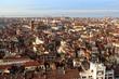 Vue de Venise depuis la tour Campanile de Saint-Marc, Venise, Italie