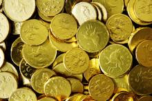 Golden Chocolate Coins