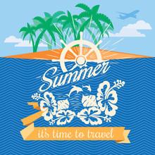 Summer Vacation Emblem