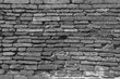 mur de briques anciennes, temple de Wat Yai Chai Mongkol