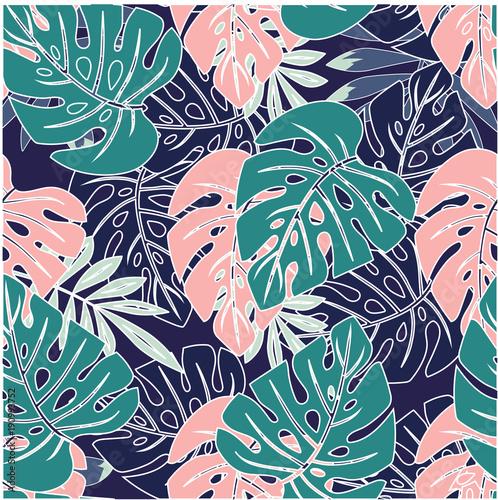 Fototapeta liście   vintage-liscie-palmowca