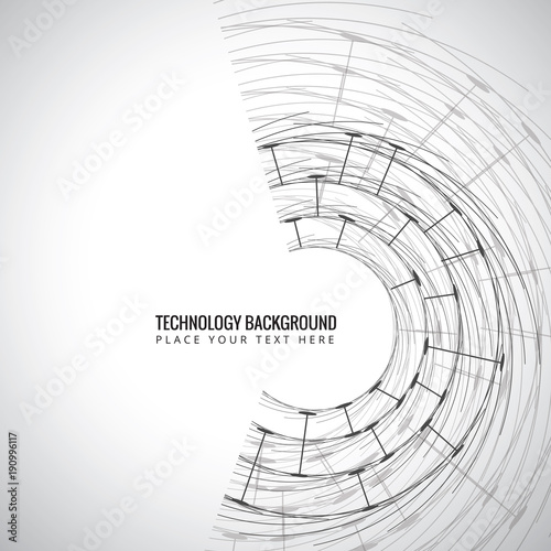 Technology background. Abstract Network Background