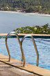 Swimming pool near the sea in island Koh Phangan, Thailand