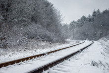 Winter Landscape, The Railway ...
