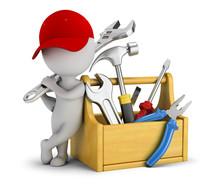 3d Small People - Repairman Ne...