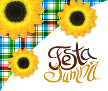 Festa Junina Poster With Lette...