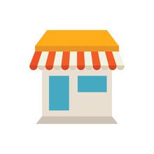 ECommerce Store Vector Icon