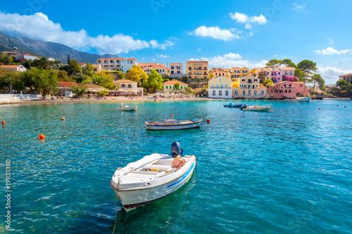 Fotografía  Kefalonia Assos Village in Cephalonia Island, Greece