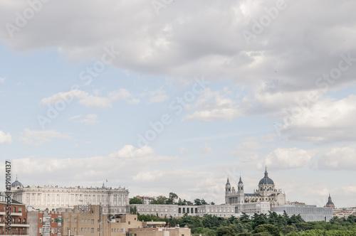 Poster New York Catedral de la Almudena, Madrid