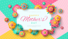 Mother's Day Card With Square Frame
