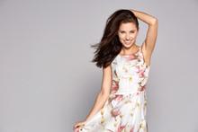 Beautiful Charming Woman Poses...
