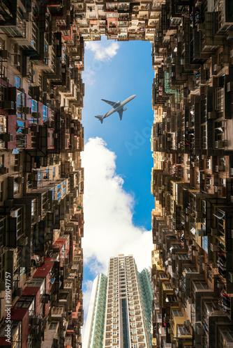 Hong Kong city Fototapete