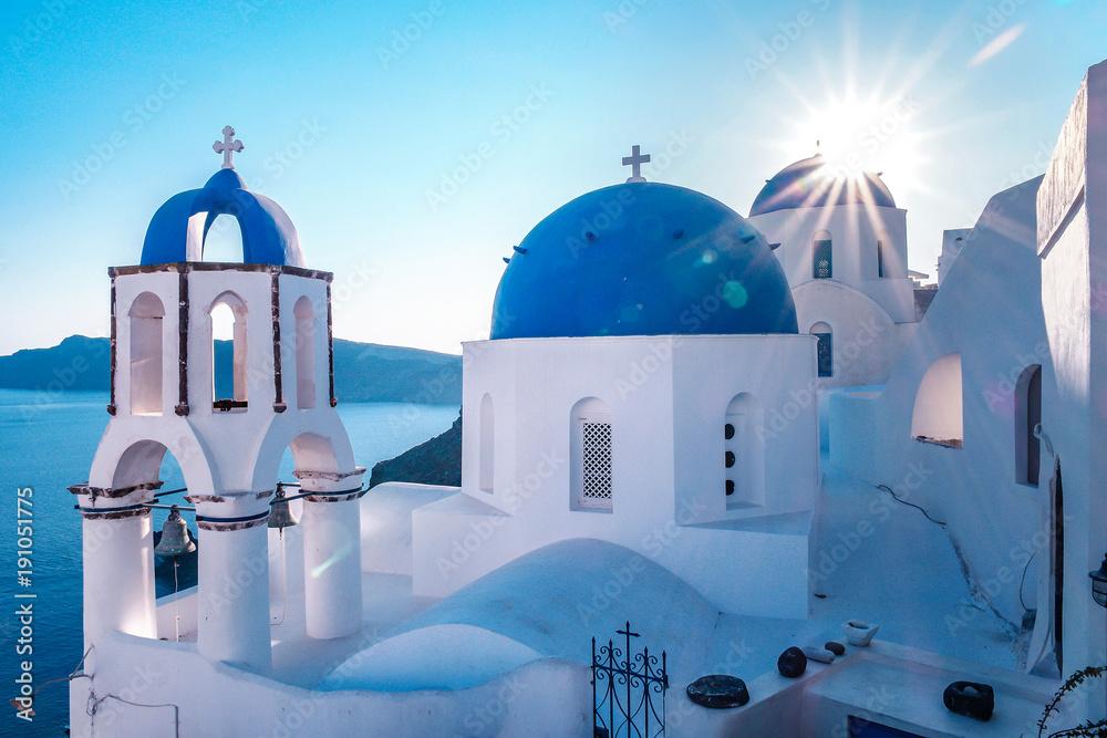 Fototapeta Santorini Oia Greece