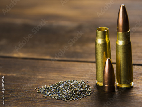 Fototapeta reloading cartridges for rifled weapons