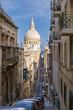 Colorful Valleta Malta Europe during vacations, old center of Valletta Malta