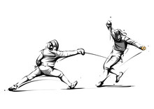 Fencing Action 3