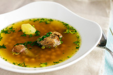 Soup Piti With Mutton And Chic...