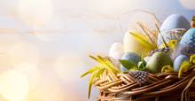Easter Background With Easter ...