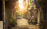 Fototapeta Uliczki - Little street of Ho Chi Minh city, Vietnam