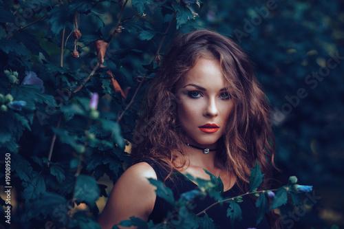 Fotografie, Obraz  Beautiful young woman posing