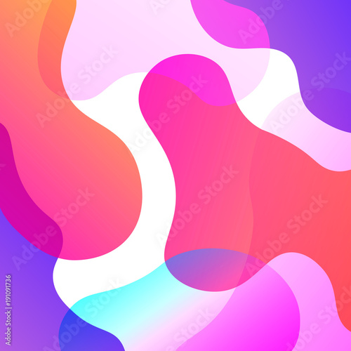 Abstract Colorful Overlay Background © Pixasquare