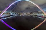 Gateshead Millennium Bridge and Surrounding area, Gateshead, Newcastle Upon Tyne