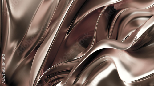 Luxury golden background. 3d illustration, 3d rendering.