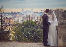 Honeymoon Newlyweds In Rome