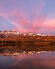 Portrait Of Canadian Rockies A...
