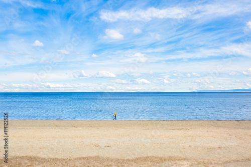 Chile, Región de Magallanes y de la Antártica Chilena, Punta Arenas, Ein Spaziergang am Strand Punta Arenas