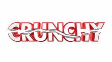 Crunchy Broken Word Rough Chal...